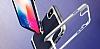 Eiroo Efficient iPhone X Silver Kenarlı Ultra Koruma Kılıf - Resim 1