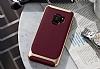 Eiroo Efficient Samsung Galaxy S9 Kırmızı Kenarlı Ultra Koruma Kılıf - Resim 2