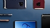 Eiroo Efficient Samsung Galaxy S9 Silver Kenarlı Ultra Koruma Kılıf - Resim 1