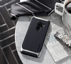 Eiroo Efficient Samsung Galaxy S9 Plus Gold Kenarlı Ultra Koruma Kılıf - Resim 1