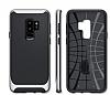 Eiroo Efficient Samsung Galaxy S9 Plus Silver Kenarlı Ultra Koruma Kılıf - Resim 3