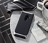 Eiroo Efficient Samsung Galaxy S9 Plus Kırmızı Kenarlı Ultra Koruma Kılıf - Resim 1