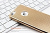 Eiroo Flashy iPhone 6 / 6S Metalik Gold Silikon Kılıf - Resim: 1