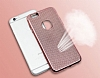 Eiroo Flashy iPhone 6 / 6S Metalik Rose Gold Silikon K�l�f - Resim: 1