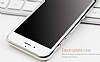 Eiroo Flashy iPhone 6 / 6S Metalik Silver Silikon K�l�f - Resim: 1