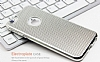 Eiroo Flashy iPhone 6 / 6S Metalik Silver Silikon K�l�f - Resim: 2