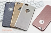 Eiroo Flashy iPhone 6 / 6S Metalik Silver Silikon K�l�f - Resim: 4