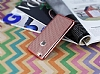 Eiroo Flashy iPhone 6 / 6S Metalik Rose Gold Silikon K�l�f - Resim: 4