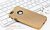 Eiroo Flashy iPhone SE / 5 / 5S Metalik Gold Silikon Kılıf - Resim: 4