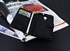 Eiroo General Mobile GM 5 Plus Cüzdanlı Yan Kapaklı Siyah Deri Kılıf - Resim 2