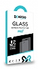 Eiroo General Mobile GM6 Curve Tempered Glass Full Beyaz Cam Ekran Koruyucu - Resim 5