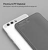 Eiroo Ghost Thin Huawei P10 Plus Ultra İnce Şeffaf Beyaz Rubber Kılıf - Resim 3