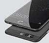 Eiroo Ghost Thin Huawei P10 Plus Ultra İnce Şeffaf Siyah Rubber Kılıf - Resim 1