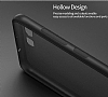 Eiroo Ghost Thin Huawei P10 Plus Ultra İnce Şeffaf Siyah Rubber Kılıf - Resim 4