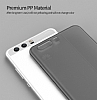 Eiroo Ghost Thin Huawei P10 Ultra İnce Şeffaf Siyah Rubber Kılıf - Resim 3