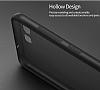 Eiroo Ghost Thin Huawei P10 Ultra İnce Şeffaf Siyah Rubber Kılıf - Resim 4