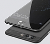 Eiroo Ghost Thin Huawei P10 Ultra İnce Siyah Rubber Kılıf - Resim 1
