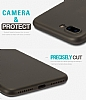 Eiroo Ghost Thin iPhone 7 Plus / 8 Plus Ultra İnce Siyah Rubber Kılıf - Resim 1
