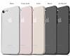 Eiroo Ghost Thin iPhone 7 Ultra İnce Şeffaf Rubber Kılıf - Resim 2