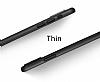 Eiroo Ghost Thin iPhone X Ultra İnce Şeffaf Rubber Kılıf - Resim 2