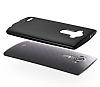 Eiroo Ghost Thin LG G4 Ultra İnce Siyah Rubber Kılıf - Resim 1