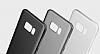 Eiroo Ghost Thin Samsung Galaxy S8 Plus Ultra İnce Şeffaf Siyah Rubber Kılıf - Resim 6