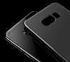 Eiroo Ghost Thin Samsung Galaxy S8 Plus Ultra İnce Şeffaf Siyah Rubber Kılıf - Resim 1