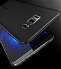 Eiroo Ghost Thin Samsung Galaxy S8 Plus Ultra İnce Şeffaf Siyah Rubber Kılıf - Resim 4
