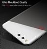 Eiroo Ghost Thin Xiaomi Mi 6 Ultra İnce Şeffaf Beyaz Rubber Kılıf - Resim 4