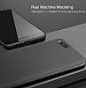Eiroo Ghost Thin Xiaomi Mi 6 Ultra İnce Şeffaf Beyaz Rubber Kılıf - Resim 5