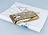 Eiroo Glows LG G4 Taşlı Gold Rubber Kılıf - Resim 2
