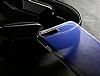 Eiroo Gradient Samsung Galaxy A7 2018 Geçişli Mor Rubber Kılıf - Resim 5