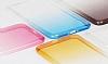 Eiroo Gradient Samsung Galaxy J5 Pro 2017 Geçişli Pembe Rubber Kılıf - Resim 4