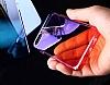 Eiroo Gradient Samsung Galaxy J7 Pro 2017 Geçişli Pembe Rubber Kılıf - Resim 2