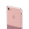 Eiroo Half Glare iPhone 6 / 6S Rose Gold Silikon Kılıf - Resim 8