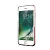 Eiroo Half Glare iPhone 6 / 6S Rose Gold Silikon Kılıf - Resim 6