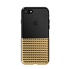 Eiroo Half Glare iPhone 6 Plus / 6S Plus Gold Silikon Kılıf - Resim 5