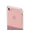 Eiroo Half Glare iPhone 6 Plus / 6S Plus Rose Gold Silikon Kılıf - Resim 8