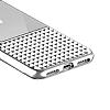 Eiroo Half Glare iPhone 6 Plus / 6S Plus Silver Silikon Kılıf - Resim 9