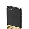Eiroo Half Glare iPhone 6 Plus / 6S Plus Gold Silikon Kılıf - Resim 8