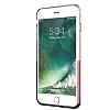 Eiroo Half Glare iPhone 7 Plus Rose Gold Silikon Kılıf - Resim 2