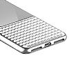 Eiroo Half Glare iPhone 7 Plus Silver Silikon Kılıf - Resim 5
