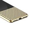 Eiroo Half Glare iPhone 7 Plus / 8 Plus Gold Silikon Kılıf - Resim 4