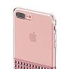 Eiroo Half Glare iPhone 7 Plus / 8 Plus Rose Gold Silikon Kılıf - Resim 4