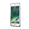 Eiroo Half Glare iPhone 7 / 8 Silver Silikon Kılıf - Resim 7