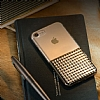 Eiroo Half Glare iPhone 7 / 8 Gold Silikon Kılıf - Resim 4