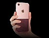 Eiroo Half Glare iPhone 7 / 8 Gold Silikon Kılıf - Resim 3