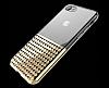 Eiroo Half Glare iPhone 7 / 8 Gold Silikon Kılıf - Resim 2