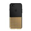 Eiroo Half Glare iPhone 7 / 8 Gold Silikon Kılıf - Resim 5