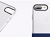 Eiroo Half to Life iPhone 7 Plus / 8 Plus Lacivert Silikon Kılıf - Resim 3